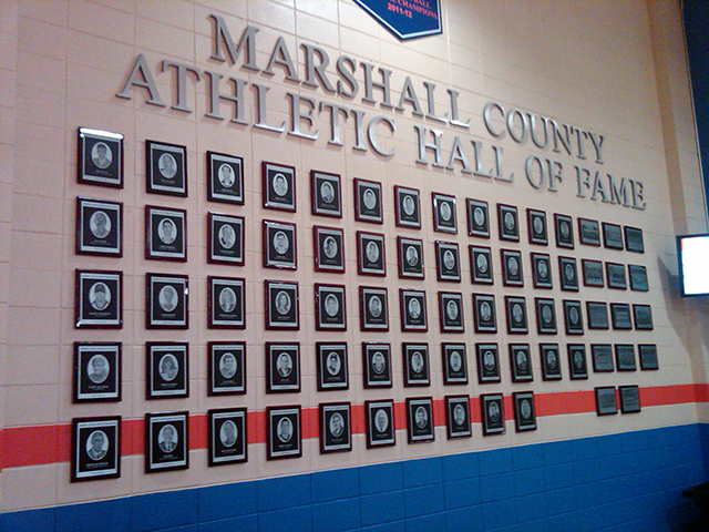 Graphics For Athletics Hall Of Fame Displays